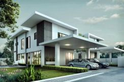 (CASH BACK 80K} NEW 20X70 2STOREY HOUSE (Rebate up to 13%)