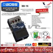 Boss BB-1X Bass Driver Guitar Effect Pedal (BB1X)