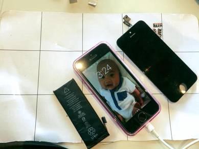 Repair Battery Dan Lcd iPhone 5 / 5s / 6
