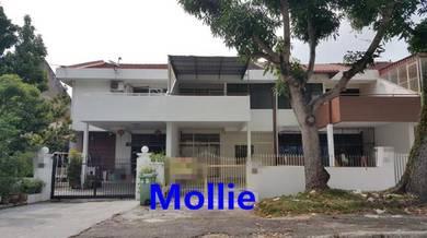 2 Storey Terrace at Sungai Nibong near Pantai Jerjak and Batu Uban