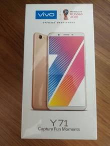 NEW SET ORI VIVO Y71i(16GB 2GB)WARRANTY 1YEAR