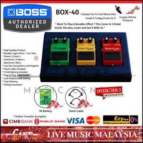 Boss BOX-40 40th Anniversary Guitar Effect(BOX40)