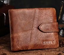 Kavi's Italy Genuine Cow Leather Men's Wallet