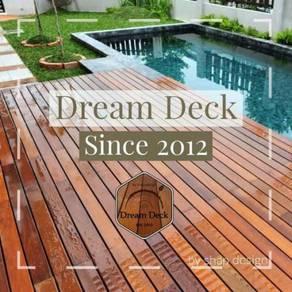 Swimming Pool Timber Deck