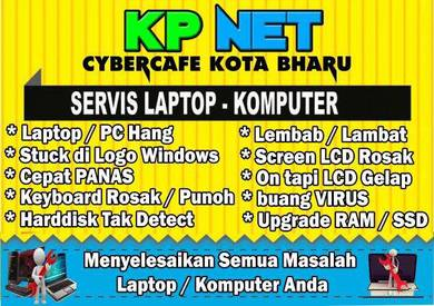 SERVIS REPAIR Laptop PC Macbook HARDWARE SOFTWARE