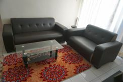Sofa set with central table
