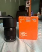 Sony 50mm f1.8 e-mount with oss