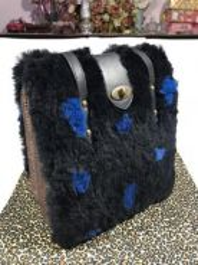 Authentic Senorita handbag / tote bag Rare design