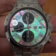 Tag Heuer Carrera CV 201P Mother-of-pearl Dial