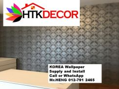 Install Wall Paper in your office 63DE