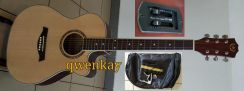 Acoustic-Electric Guitar 40Inch A&K #220E Natural