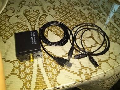 Audio convertor DIGITAL TO ANALOG