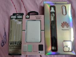 Huawei Bluetooth earphone powerbank