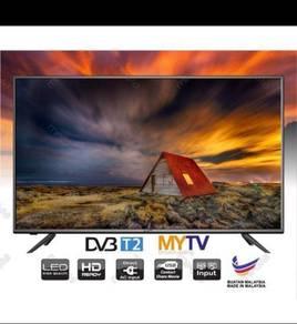 Led tv 32 inch set baru