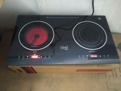 IMPORTED TEMPERED GLASS 2burner built in gas stove