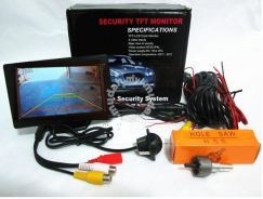 Car Reverse Camera and 4 Inch LCD