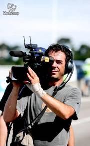 Cameraman videographer and photographer