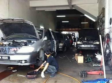Naza Ria Convert Toyota Engine V6 2.5