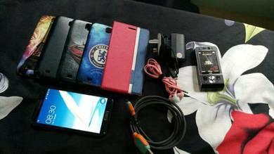 Samsung Galaxy Note 2 Two & Sony Ericsson W901i
