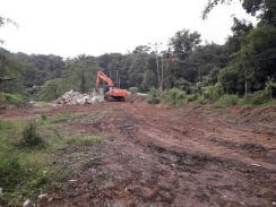 Land near future Pan Highway Borneo