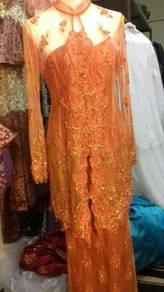 The lace kebaya
