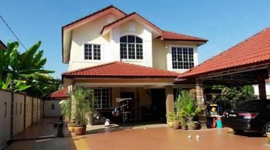 (13k sqft, Modern Bungalow HUGE land) Sri Pulai, Seremban, Temiang