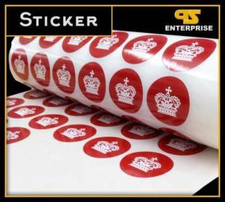 Label Sticker Printing & Graphic Design Service