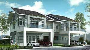 Taman Suria Jaya Double Storey Terrace New House At Kluang