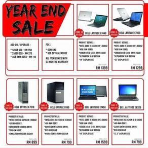 Dell laptop desktop year end promotion