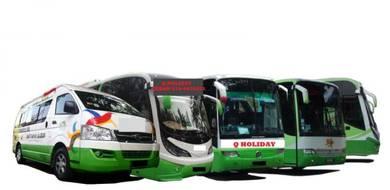 Bas persiaran dan bas catar