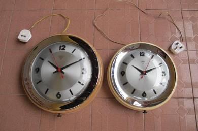 DIAMOND Electric Wall Clock Vintage seiko