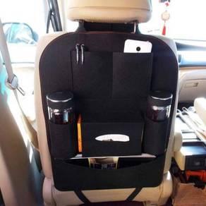 [o f f e r] backseat organizer -black