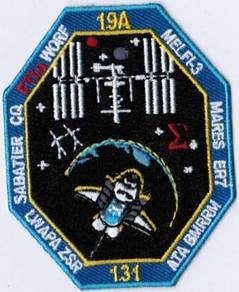 NASA Space Shuttle Flight STS-131 Discovery Patch