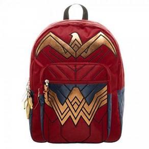 Wonder Woman Red Backpack Bag G48