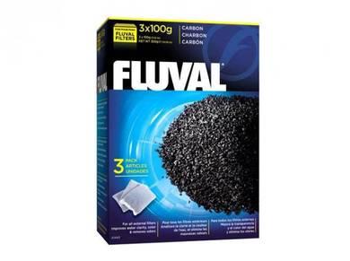 A1440-Fluval Carbon - 3 x 100 g (3.5 oz) nylon bag