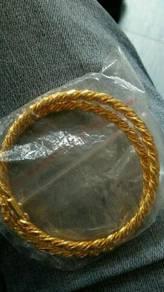 Gelang tangan emas korea