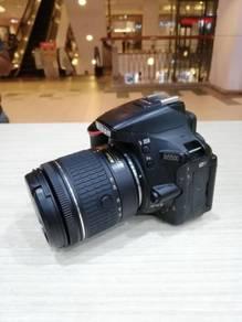 Nikon d5500 with af-p 18-55mm vr kit (sc 33k only)