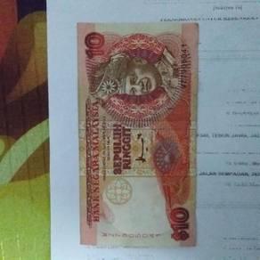 Wang kertas lama rm10 untuk di lepaskan