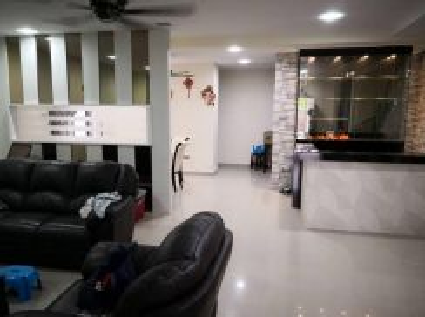 2 storey semi-d at taman bandar putra kulai fully reno and furnish