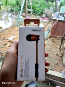 Sonic gear earphone apaek plug turbine