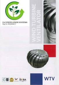 MKLD7M FA Turbine Ventilator No.1 in MALAYSIA