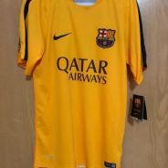 Authentic Nike Barcelona training jersey