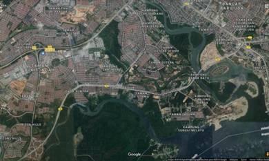 Laguna, danga bay, 8 acres development land