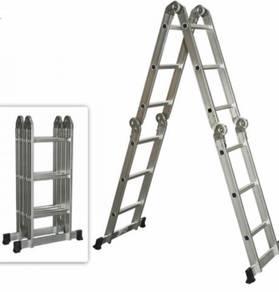 Tangga Lipat Serbaguna Foldable Aluminium Ladder