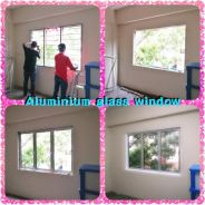 Aluminium Glass Dan Gypsum board Partition
