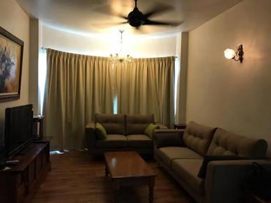 Mutiara villa condo 1200sf - (high floor) fully furnished