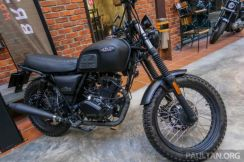 New brixton scrambler 150 old stock no sst