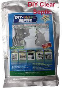 DIY CLEAR SEPTIC unclog remove odor