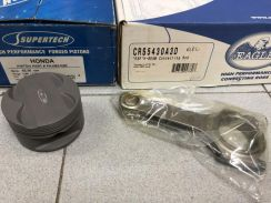 Supertech Piston + Eagle Con Rod - B18C 82mm Turbo