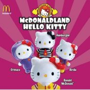 Mcdonald Hello Kitty One Set